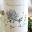 Personalised Birth Flower 70cl Bottle of CeroCero Non-Alcoholic Botanical Spirit