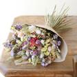 Lisa Angel Pastel Personalised Token Dried Flower Bouquet