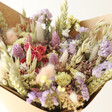 Lisa Angel Special Pastel Dried Flower Bouquet