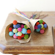 Lisa Angel Special Preserved Rainbow 'Billy Buttons' Craspedia Flowers