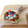 Lisa Angel 20 Stems of Preserved Rainbow 'Billy Buttons' Craspedia Flowers