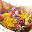 Lisa Angel Rainbow Brights Dried Flower Bouquet Close Up