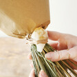 Lisa Angel Real Natural Dried Flower Bouquet with Citrine Crystal