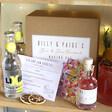 Lisa Angel Personalised Gin & Jam Cocktail Gift Kit