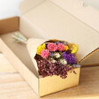 Lisa Angel Colourful Ladies' Rainbow Brights Dried Flower Posy Bouquet Letterbox Gift