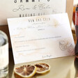 Lisa Angel Personalised Rum & Cola Cocktail Kit Instructions