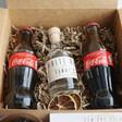 Personalised Rum & Cola Cocktail Gift Kit