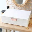 Lisa Angel Stackers Classic Jewellery Box Lid in White