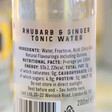 Lisa Angel Lixir 20cl Bottle of Rhubarb and Ginger Tonic Water