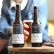 Lisa Angel Personalised 'One in a Billion Dad' Bottle of Malt Coast Beer