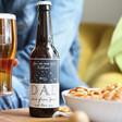 Dad's Personalised 'One in a Billion Dad' Bottle of Malt Coast Beer