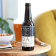 Father's Day Starry Beer Bottle