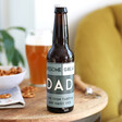 Lisa Angel Personalised Bold Father's Day Bottle of Malt Coast Beer
