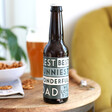 Men's Personalised 'Coolest Dad' Father's Day Bottle of Malt Coast Beer