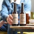 Men's Personalised Adventure Bottle of Malt Coast Beers