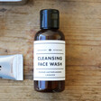 Men's Society 'Off To The Gym' Kit Cleansing Face Wash