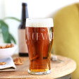 Men's 'Best Dad in Norwich' Father's Day Pint Glass