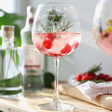 Ladies' Personalised 'All That Gardening' Balloon Gin Glass