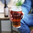Father's Day Adventure Pint Glass