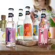 5 artisan drinks co tonics laid out on table