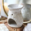 Lisa Angel Glazed Ceramic 'The Songbird' Wax Melt Burner