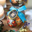 Lisa Angel Vegan Booja-Booja Large Almond Salted Caramel Truffles Easter Egg