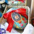 Lisa Angel Vegan Booja-Booja Large Hazelnut Crunch Truffles Easter Egg