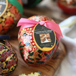 Lisa Angel Vegan Booja-Booja Small Almond Salted Caramel Truffles Easter Egg