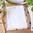 Carpe Diem Budget Planner Bill Payment Checklist