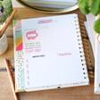Carpe Diem Budget Planner Monthly Breakdown Page