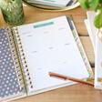 Carpe Diem Home Planner Menu Planning Page