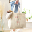 Lisa Angel Ladies' Rainbow Personalised Organic Tote Bag
