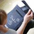 Lisa Angel Personalised 'Your Drawing' Grey Felt Tablet Sleeve