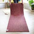 Lisa Angel Jute Yoga Mat in Plum