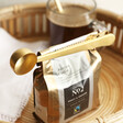 Lisa Angel with Sass & Belle Brass Coffee Scoop and Clip