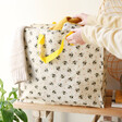 Lisa Angel with Big Sass & Belle Busy Bees Storage Bag