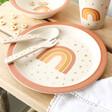 Lisa Angel with Sass & Belle Children's Earth Rainbow Bamboo Tableware Set