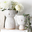 Lisa Angel with Sass & Belle Glazed Simple Face Planter and Vase