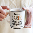 Lisa Angel with Sass & Belle 'I'm A Carer' Mug