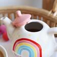Lisa Angel Sass & Belle Rainbow 'Positivitea' Teapot and Mug Set