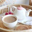 Lisa Angel Ladies' Sass & Belle Rainbow 'Positivitea' Teapot and Mug Set
