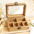 Lisa Angel Ladies' Sass & Belle Rattan Jewellery Box
