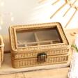 Ladies' Sass & Belle Rattan Jewellery Box