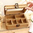 Sass & Belle Rattan Jewellery Box