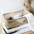 Sass & Belle Rectangular Seagrass Storage Basket