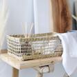 Rectangular Seagrass Storage Basket