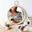 Lisa Angel Sass & Belle Round Rattan Mirror