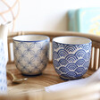 Lisa Angel with Sass & Belle Set of 2 Japanese Inspired Ceramic Cups