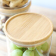 Lisa Angel with Bamboo Sass & Belle Set of 3 Stacking Glass Storage Jars