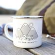 Sass & Belle 'On the Road' Enamel Mug